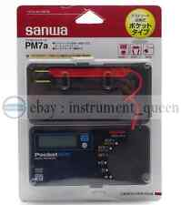 NEW Sanwa PM7A Pocket mini size portable Multimeter DMM 4000 count DC AC