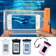 Hot Handy Waterproof Dry Pouch Bag Covers Cases For Cell Phone/Smart Phone Skins