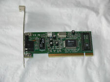 TESTED & WORKING-davicom dec-tulp Ethernet 10/100 pro200wl PCI CARD UK Venditore