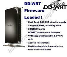 Netgear WNDR4500V2 Dual Band 2.4G/5G Wireless N Router with DD-WRT VPN firmware