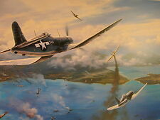 GUNFIGHT OVER RABAUL -NICOLAS TRUDGIAN- LTD ED - 4 OUTSTANDING SIGNATURES
