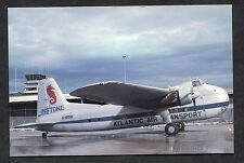 Dated 1987 Instone Atlantic Air Transport Bristol 170 MK31 Frieghter at Geneva