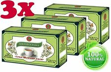 TOP PRICE 3 BOXES SENNA TEA Colon Cleansing Laxative Detox Weight Loss 60 bags
