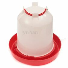 3L Strong Plastic Chicken Chicks Hen Quail Poultry Drinker Waterer with Handle