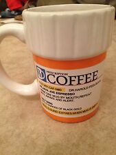 Pill Bottle Coffee Mug Rx Funny Novelty Great Gift Holiday Humor Cool