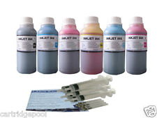 6x 8oz/s Refill ink kit for HP 02 PhotoSmart C6180 C5140 C6150 C5175 C7280 C8180