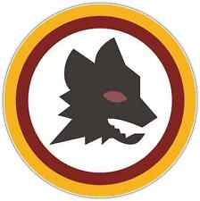 "AS Roma FC Italy Football Soccer Car Bumper Sticker Decal 4.5""X4.5"""