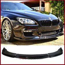 Carbon Fiber HM Type Front Lip Fit 12-16 F06 F12 F13 6-Series BMW M-Tech Bumper