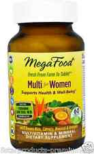 NEW MEGAFOOD MULTI FOR WOMEN GLUTEN FREE SUPPORTS HEALTH & WELL-BEING DAILY CARE