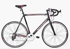 XRS650 MENS ALLOY RACING ROAD BIKE SHIMANO 14 SPEED XL 64CM TALL MEN BLACK/RED