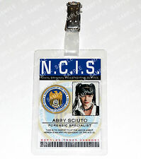 NCIS Leroy Abby Sciuto ID Badge Card Special Agent Cosplay Costume Halloween