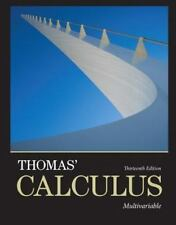 NEW Pearson Thomas' Calculus, Multivariable, 13th Edition Paperback, Ch. 10 -17