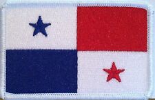 PANAMA Flag Patch Military With VELCRO® Brand Fastener Emblem