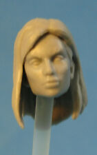 "FH062 Custom Cast Sculpt part female head cast for use with 3.75"" action figures"