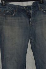 """SEVEN FOR ALL MANKIND Light Blue JEANS SIZE 32 INSEAM 29"""""""