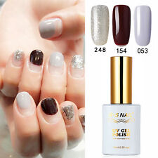 3 PIECES RS 053_154_248 Gel Nail Polish UV LED Glitter Varnish Soak Off 0.5oz