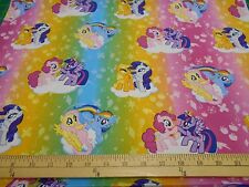 """1 yard """"My Little Pony Ombre""""  Fabric"""