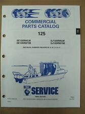 1991 Johnson Evinrude 125 HP RWLM RWYM Commercial Outboard Parts Catalog 434265