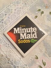 Vintage Minute Maid Sodas Pin Back Button coca-cola company