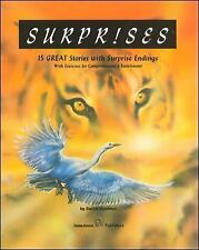 Surprises:  15 Great Stories with Surprise Endings with Exercises for Comprehens