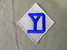 26th Infantry Division Patch Embroidered 0n twill no glow  original