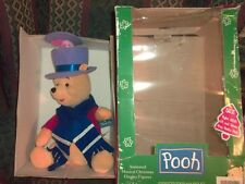 TELCO Animated Winnie The Pooh with  Piglet  Christmas Display Figure