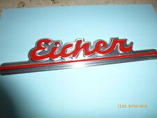 Eicher Schriftzug 25,5 cm Traktor Schlepper Trecker