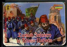 Strelets Models 1/72 TURKISH INFANTRY WINTER UNIFORM Russian-Turkish War Figures