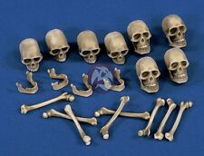 Verlinden 120mm - 150mm (1/16 - 1/12) Skulls and Bones [Resin Diorama Acc.] 1473