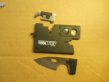 Tool Logic Card Swiss Army style Credit Catd tool in black - very handy