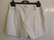 Cream Tailored Look H&M Hot Pants / Shorts in Size 8 - BNWT