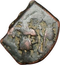 Constans Ii & Constantine Iv 641Ad Authentic Ancient Byzantine Coin i24129