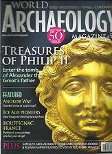 CURRENT WORLD ARCHAEOLOGY MAGAZINE, DEC,2011 / JAN, 2012 (TREASURES OF PHILIP II