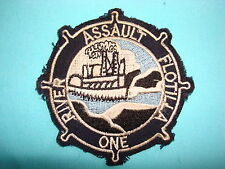 VIETNAM WAR BE PATCH, US NAVY RIVER ASSAULT FLOTILLA ONE
