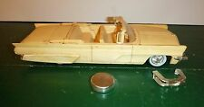 VINTAGE Built AMT 1959 LINCOLN CONTINENTAL CONVERTIBLE W/BOX Model Car Mountain