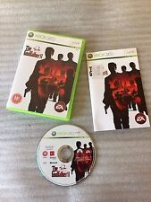 The Godfather II 2 For Microsoft Xbox 360 Game Complete PAL - 2009