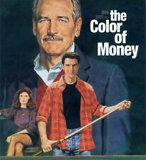 The Color of Money 1986 R movie, new DVD, pool Fast Eddie Paul Newman Tom Cruise