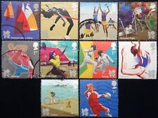 GB 2011 Olympic & Paralympic Games III Used Off Paper Set