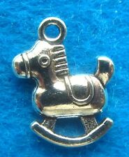 Pendant Charms Rocking Horse Charm Antique Silver Charm Rocking Horse Charm