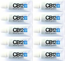 10 x CB12 Toothpaste 15ml = 150ml  (Bad breath, halitosis, smokers, whitening)