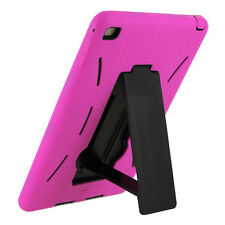 Pink Case Cover Shockproof Armor Rugged Grip stand For Apple Ipad Mini 1 2 3