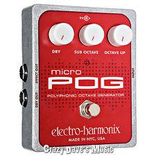 Electro-Harmonix Micro Pog Polyphonic Octave Generator EHZ EH