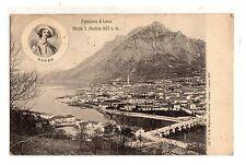 C002130   LECCO   PANORAMA  CON  RENZO  E  IL  MONTE  SAN  MARTINO   VG 1906