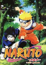 DVD ~ NARUTO COMPLETE SEASON 1  (EPISODE 1 - 220)~ ENGLISH VERSION & SUBTITLE