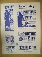 A Kay Film's Flyer- THE CAPTIVE CITY