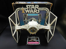 vintage Star Wars Imperial TIE FIGHTER Kenner action figure vehicle COMPLETE+box