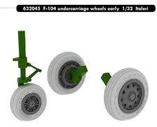 Eduard Brassin 1/32  F-104C Starfighter Undercarriage Wheels Early # 632045