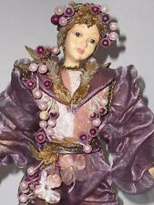 """Porcelain Show Stoppers Poseable Doll #538 Florence Maranuk Collection 17.5"""""""