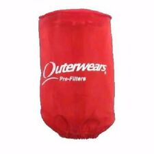 Outerwears - 20-1219-03 - Pre-Filter for K&N HA-5000 Filter, Red`