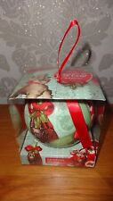 LARGE HAND CRAFTED COCA COLA BAUBLE CHRISTMAS TREE ORNAMENT BNIB!